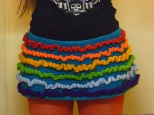 rainbow ruffle 1