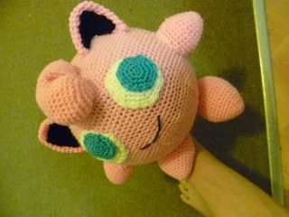 Jigglypuff – Crochet Pokemon {Free Crochet Pattern} - Crochet For ... | 240x320