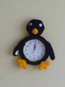 penguin clock 5