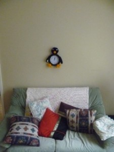penguin clock 6
