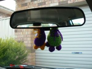 car ornament 4