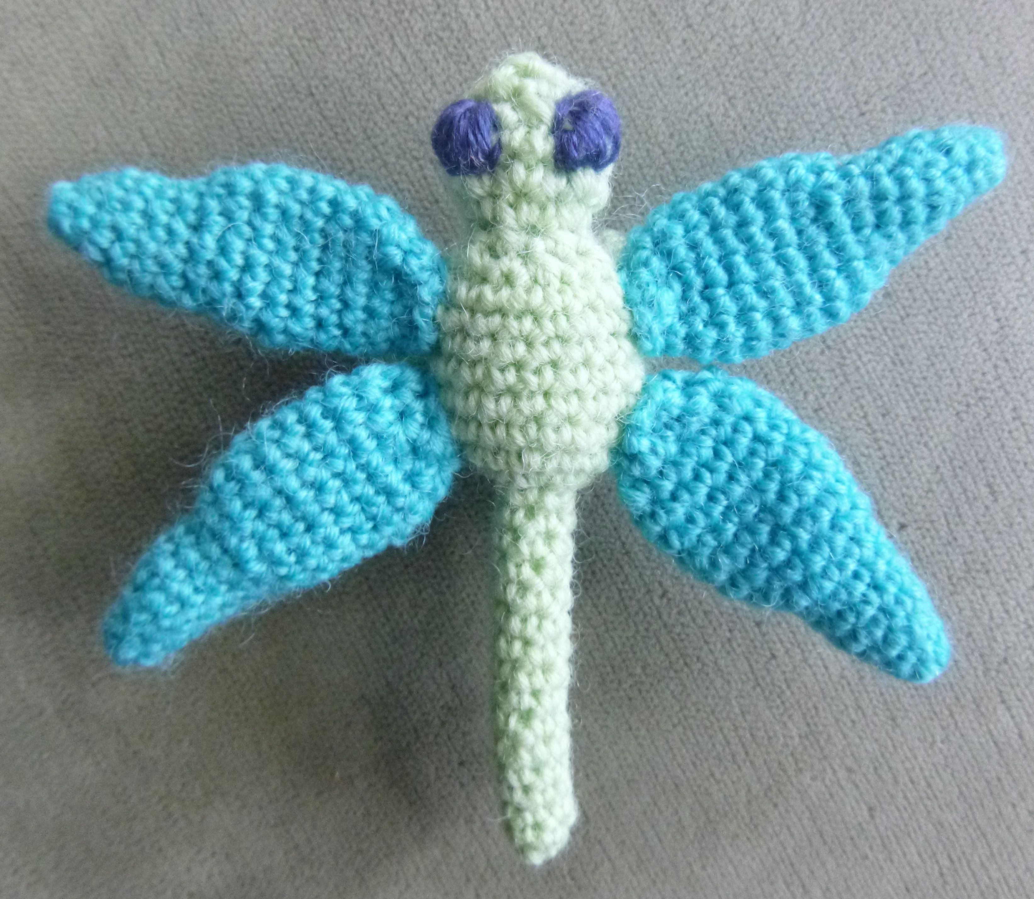 Dragonfly Crochet Pattern Magnificent Design Ideas